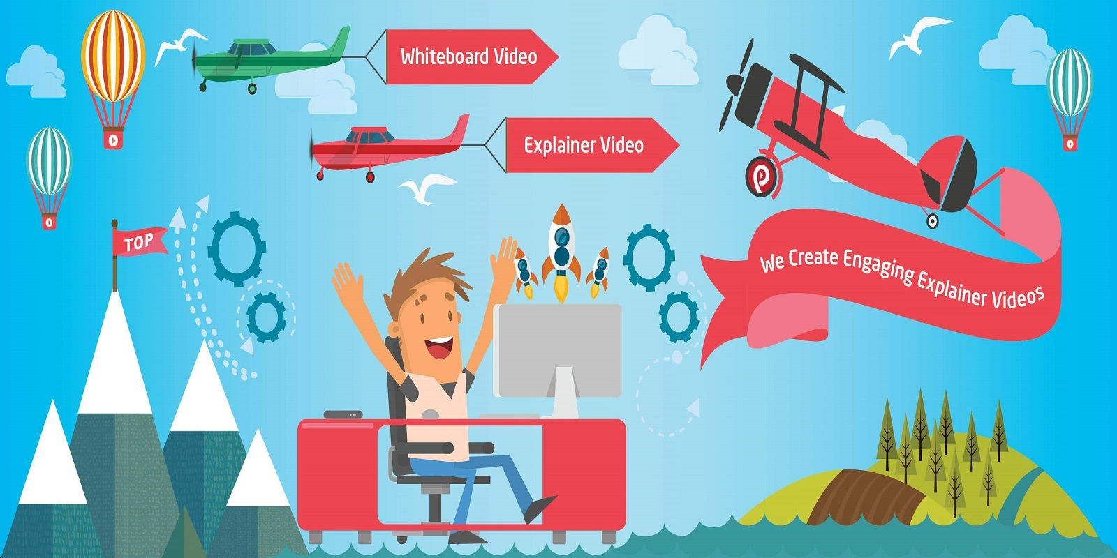 Explainer Video, Animated Product Videos, 3D Modelling and Much More at Affordable Price